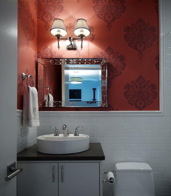 Girls 39 Bathroom Modern Bathroom Chicago By John