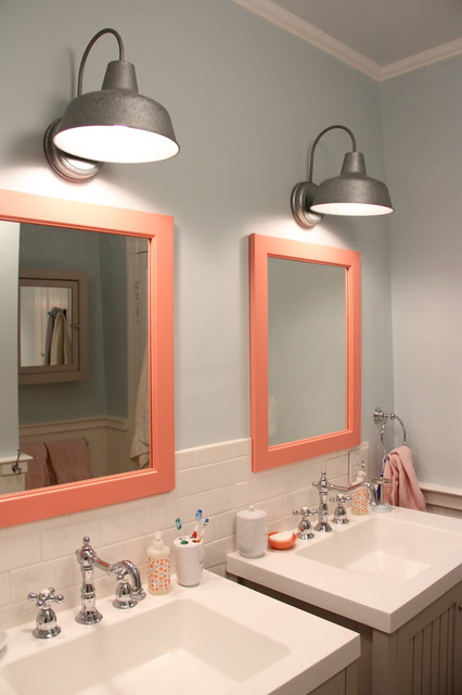 Kids Bathroom Makeover Traditional Bathroom Richmond By Lesli Devito And My Old Country