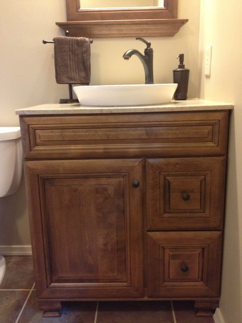 Kilgore bath rustic bathroom philadelphia by lowe 39 s of york pa for Rustic bathroom vanities lowes