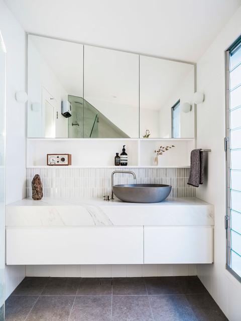 Kimba's House contemporary-bathroom