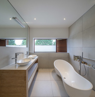 Kingston house 2 modern bathroom london by coupdeville for Bathroom design kingston