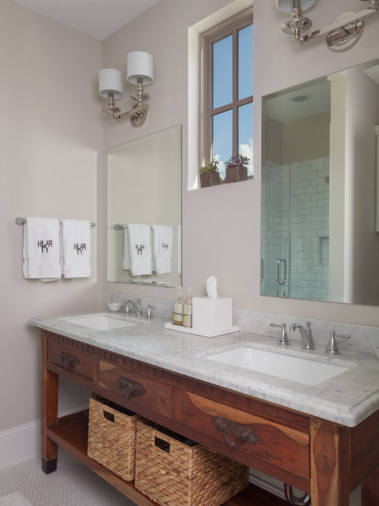 Unframed Mirror Home Design Ideas, Pictures, Remodel and Decor