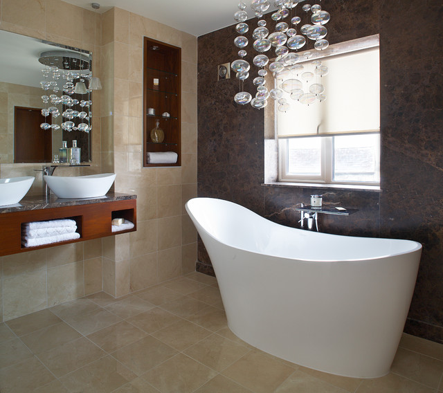 Kinnegad Contemporary Bathroom Dublin By Optimise