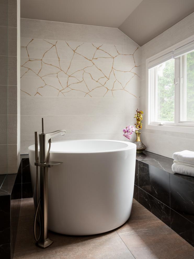 Kintsugi Spa Bath - Transitional - Bathroom - Seattle - by ...