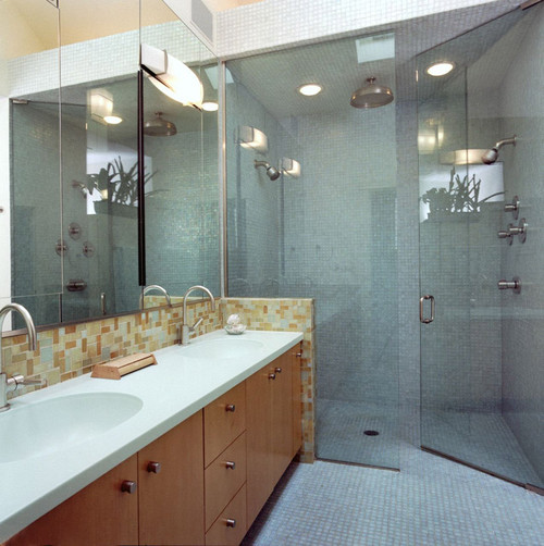 contemporary bathroom Add Style to Your Accessible Bathroom