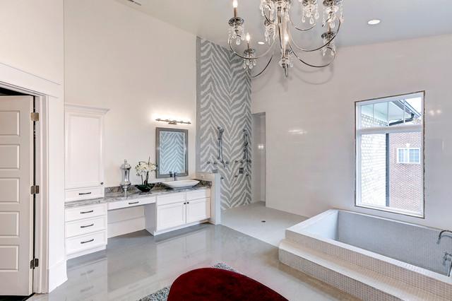 Kirby Road, Mclean, VA traditional-bathroom