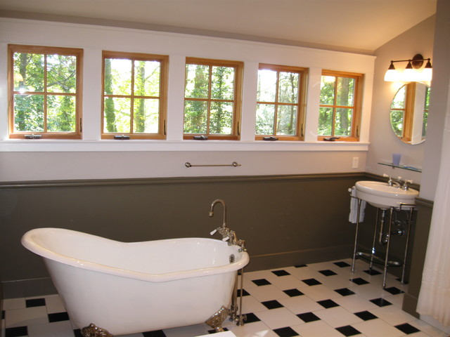 Kirk S House Master Bath With Clawfoot Tub Craftsman