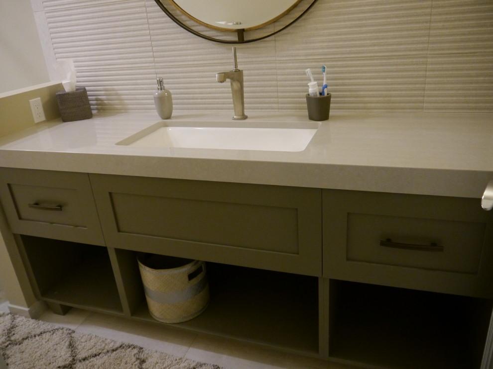 Kirkland Guest Bathroom Remodel - Transitional - Bathroom ...