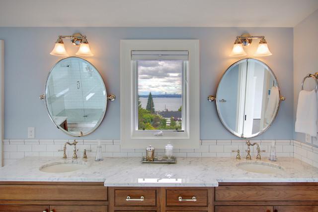 Distance Between Vanity Lights And Mirror : Kirkland Tanditional