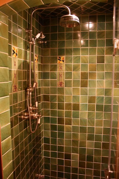 Handmade Tiles Offer The Chance To Create A One Of A Kind Shower Or  Backsplash. Craftsman Tiles Are Highly Glazed With Few Elaborate Accents.