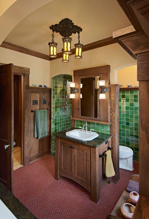 craftsman bathroom designer