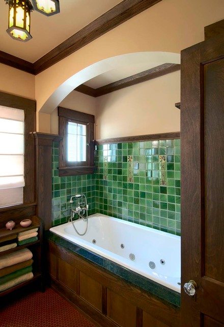 Kirkman Master Bath craftsman-bathroom