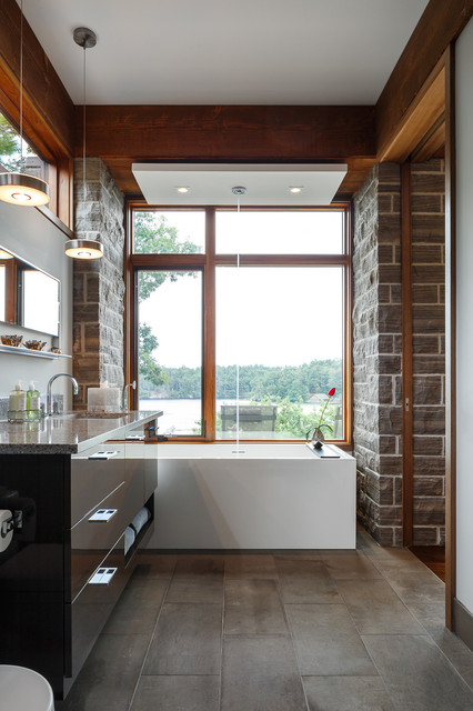 Kitchen Bath Project In Rockport Astro Design Ottawa Contemporary Bathroom Ottawa By