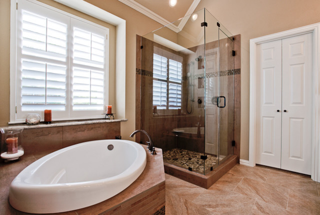 Kitchen and bath remodel traditional bathroom dallas for Kitchen and bath contractors