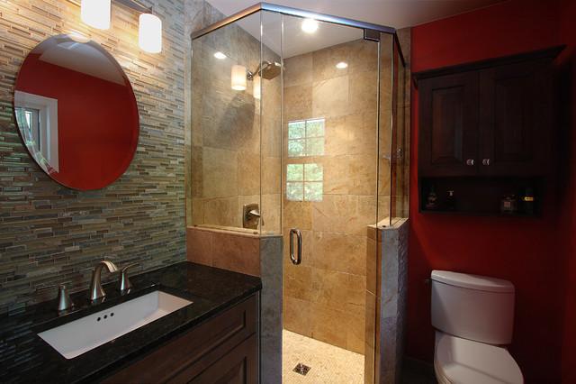 Kitchen & Bath Remodel in Mclean, Virginia contemporary-bathroom