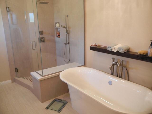 Kitchen bathroom redesign traditional bathroom for Bathroom redesigns