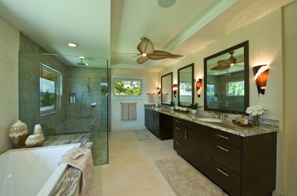 Kitchen & Bathroom Remodel Hawaii - Tropical - Bathroom ...