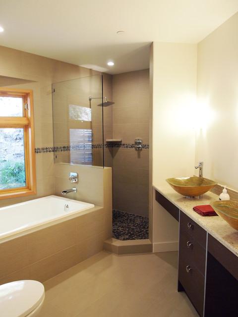 Kitchen And Bathroom Renovation Contemporain Salle De