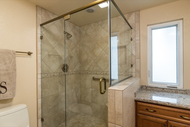 Kitchen And Master Bathroom Remodel Job In Escondido Ca Traditional Bathroom San Diego
