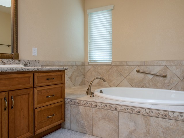 Kitchen and Master Bathroom remodel job in Escondido, Ca. traditional-bathroom