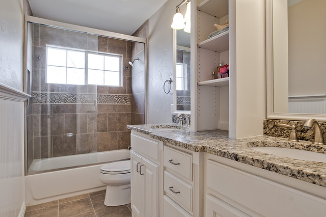 Kitchen and Master Suite traditional-bathroom