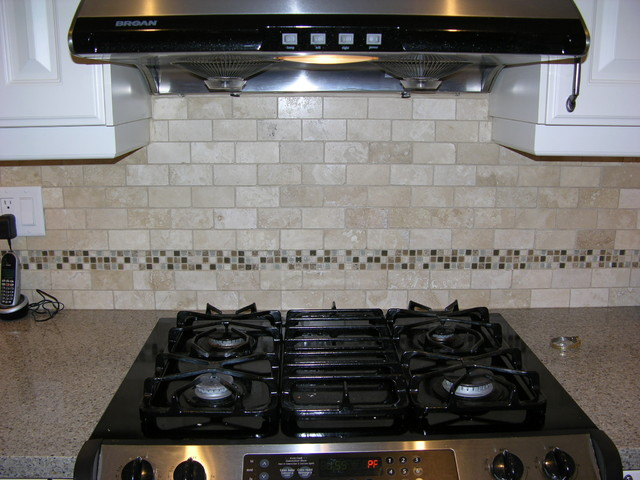 Stone Mosaic Backsplash