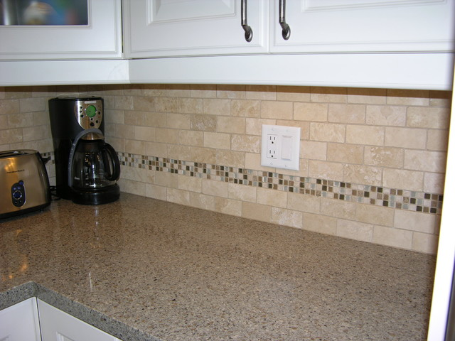 Kitchen Backsplash - Glass/stone bathroom