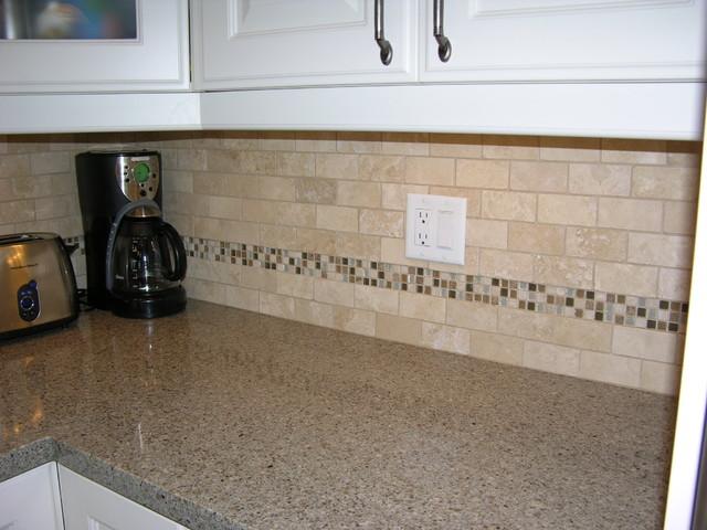 Kitchen Backsplash Glass Stone