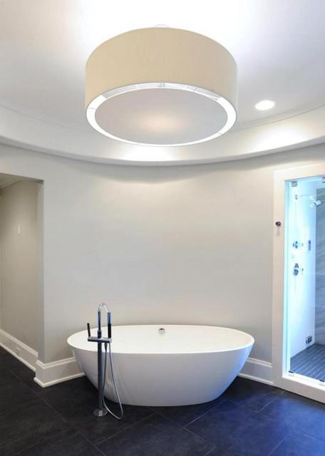 Kitchen, Bar & Master Bath Remodel - January 2013 contemporary-bathroom