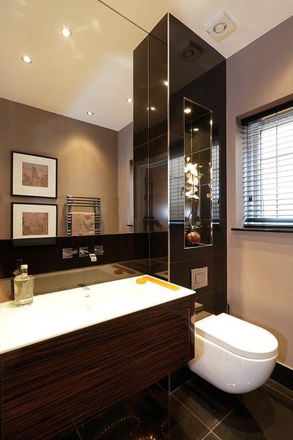 Kitchen Bathrooms Tiles For New Build House At Gerrards Cross London Modern Bathroom