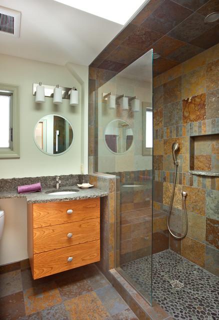 Kitchen/Living Room contemporary-bathroom