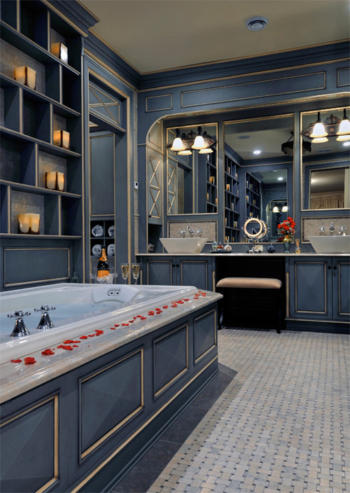 Kitchen Designs by Ken Kelly, Inc. Master Bath 1 traditional bathroom