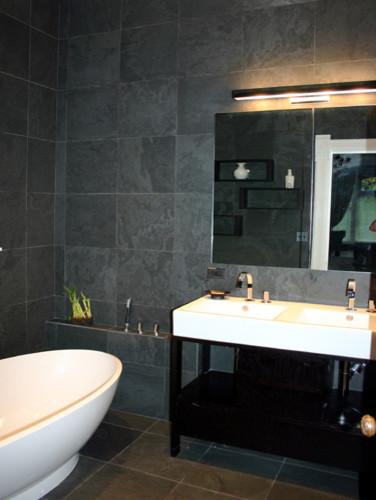 kitchenlab modern-bathroom