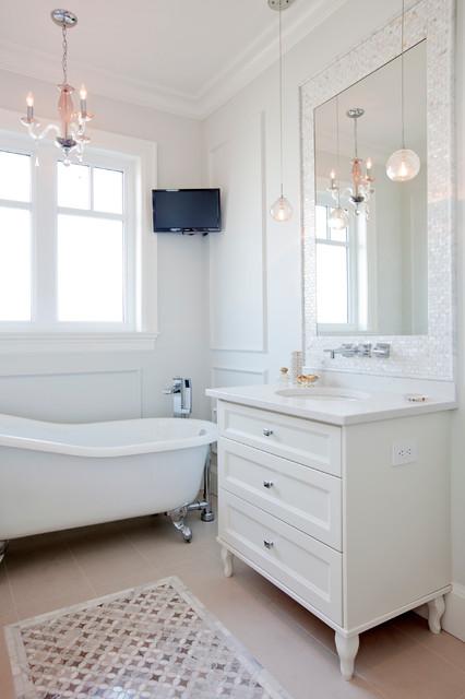 Kitsilano New Build Transitional Bathroom Vancouver By Pure Design Inc