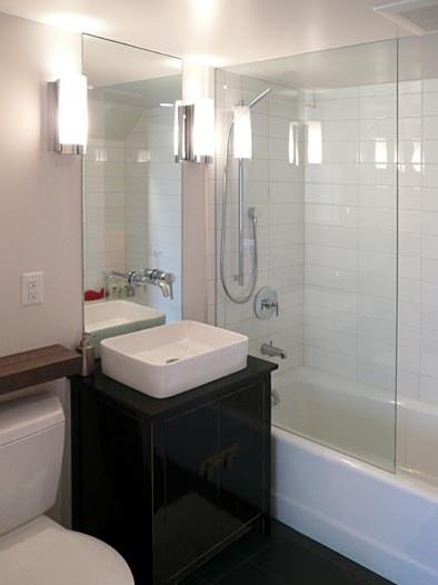 Klopf Architecture - Bathroom Remodel modern bathroom