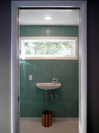 Klopf Architecture Window Over Sink Modern Bathroom