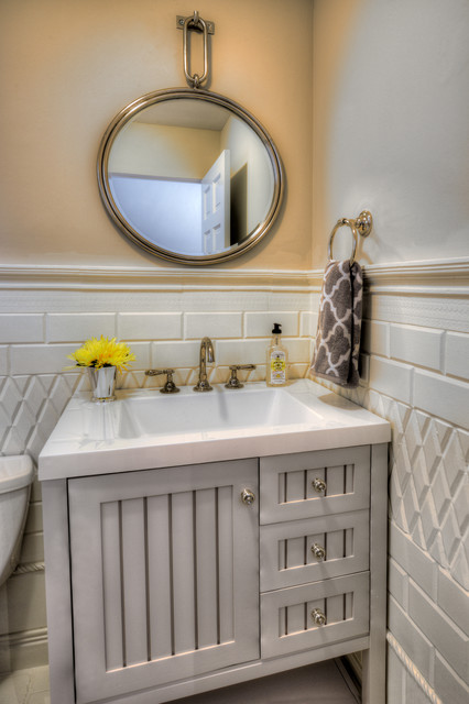 KMI OfficeShowroom Traditional Bathroom Chicago by Kate