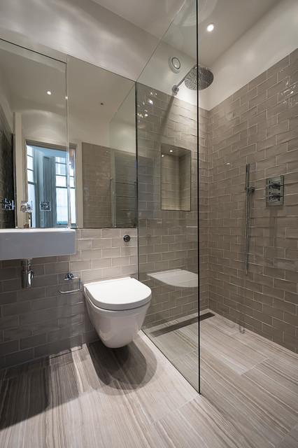 Knightsbridge apartment modern bathroom london by tla studio - Bathroom design london ...