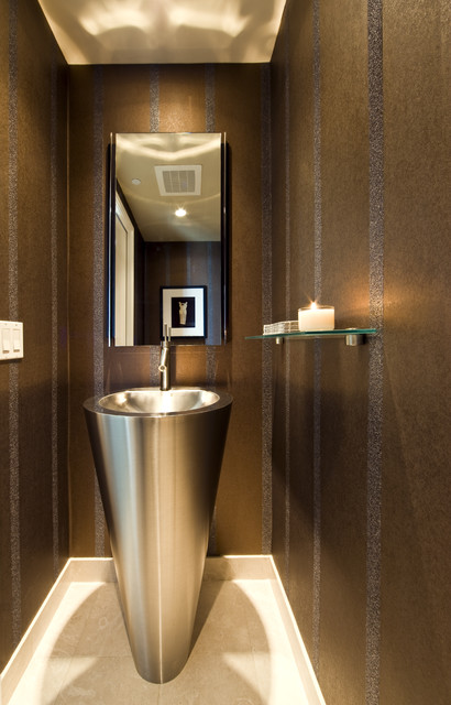 Knudson Interiors modern-bathroom