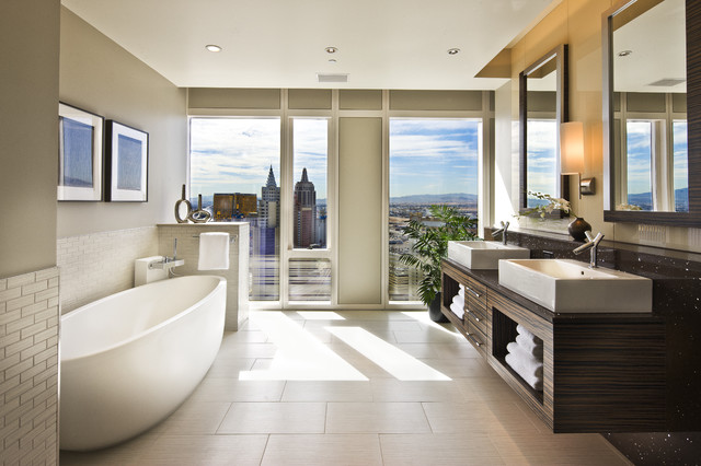 Knudson Interiors - contemporary - bathroom - las vegas - by ...