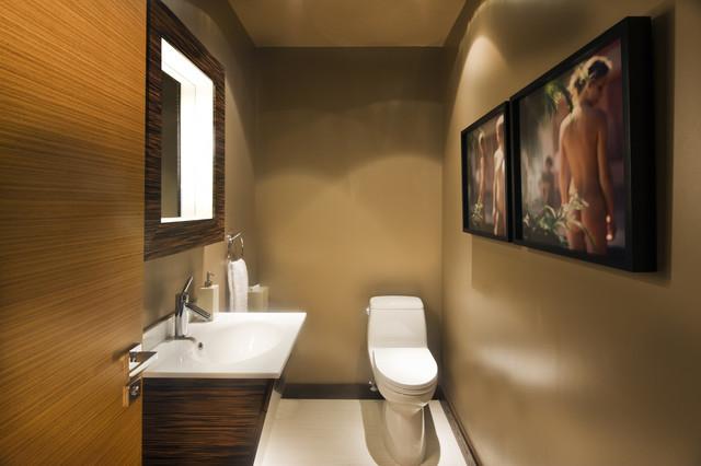 Knudson Interiors contemporary-bathroom