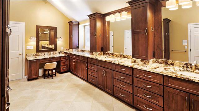Koch Cabinets bathroom