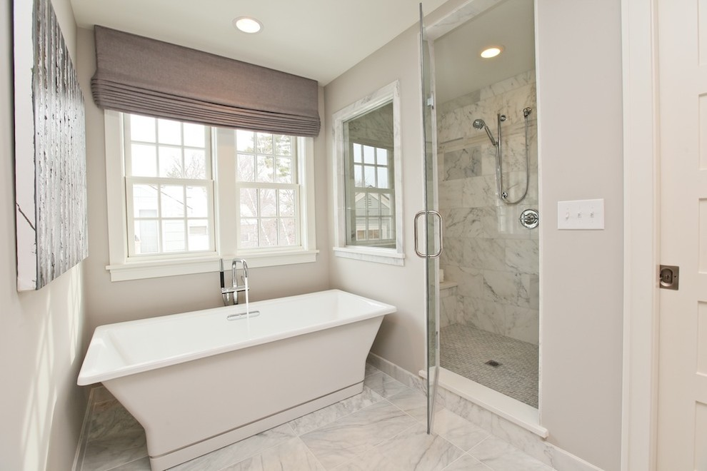 Example of a bathroom design in Boston