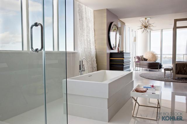 Kohler Bathrooms contemporary-bathroom