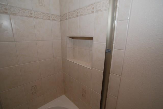recessed bathroom shower shampoo soap shelf kohler devonshire tub with recessed shampoo shelf tall