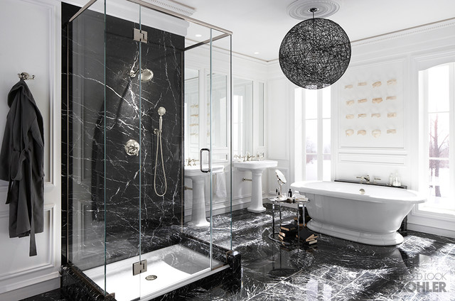 Kohler Hollywood Glam Inspired Bathroom Contemporary