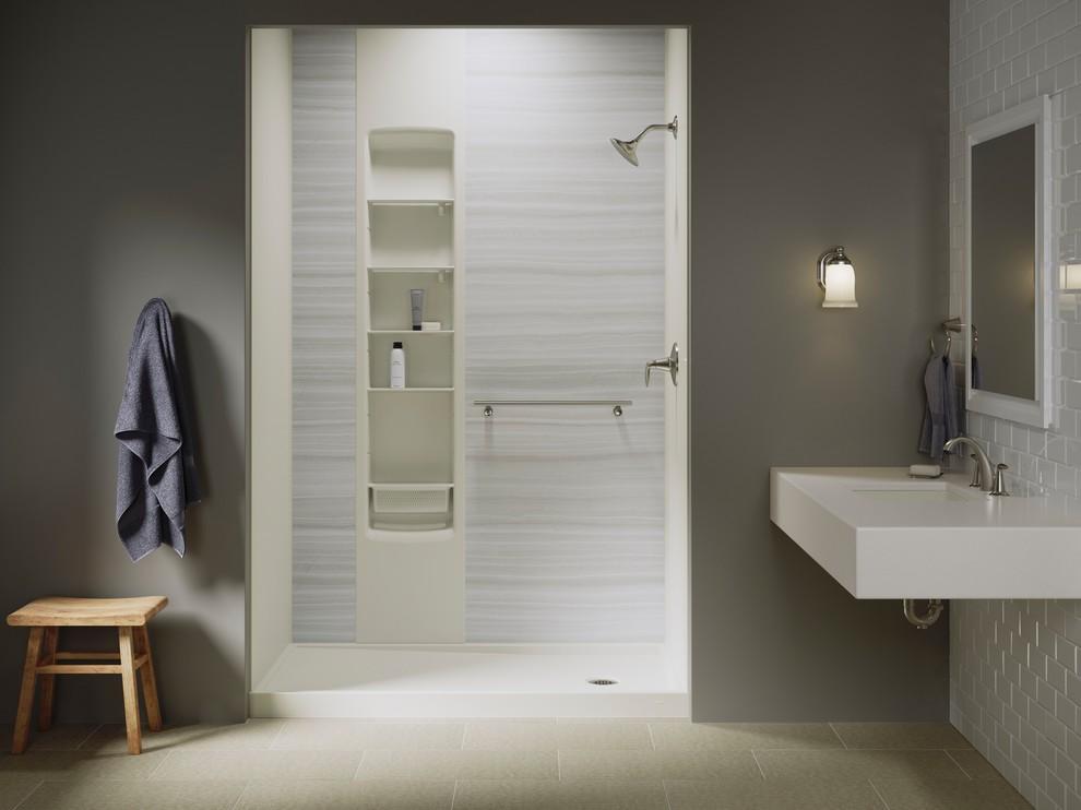 kohler luxstone shower kits  modern  bathroom