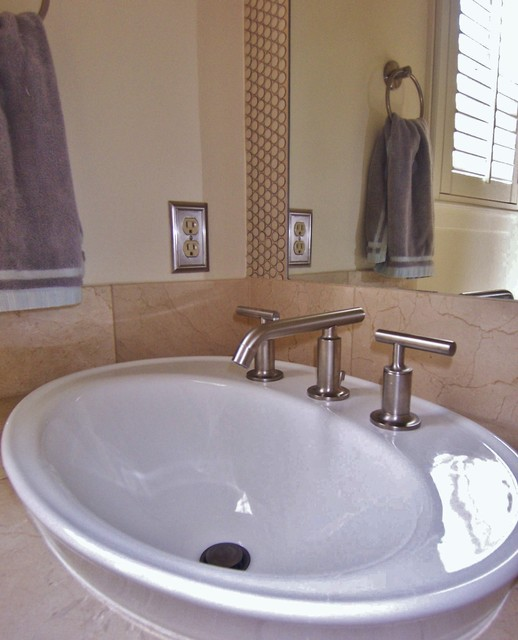Kohler Sink And Purist Faucet Penny Tiles