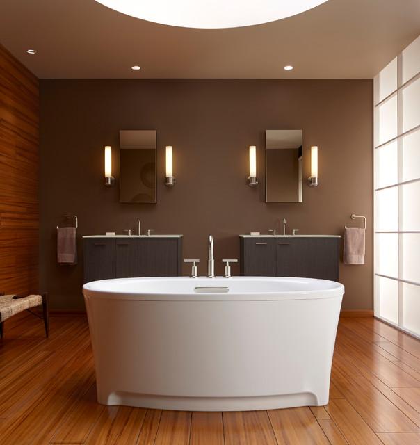 Kitchen And Bath Solutions: Kohler Underscore Freestanding Tub & Purist Faucet