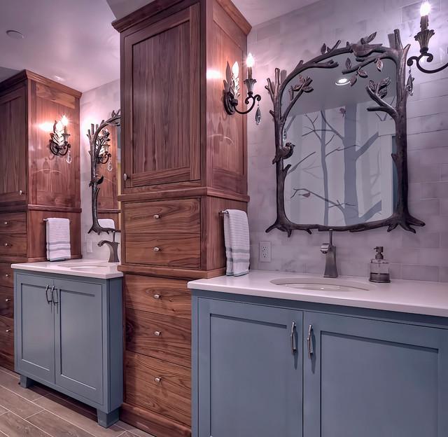 Kopachuck Residence transitional-bathroom
